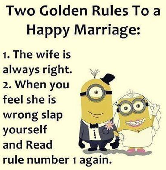 Two Golden Rules To A Happy Marriage Pictures, Photos, And