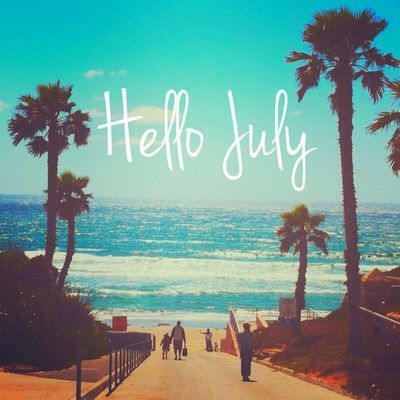 hello july summer beach quote pictures photos and images