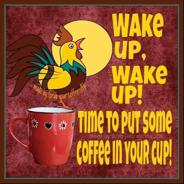 Wake up put on