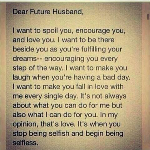 Dear Future Hysband Pictures, Photos, and Images for