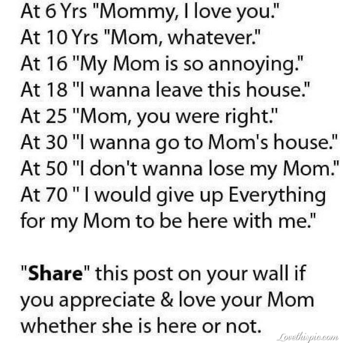 Quotes For Your Mom Love Your Mom Pictures, Photos, and Images for Facebook, Tumblr  Quotes For Your Mom