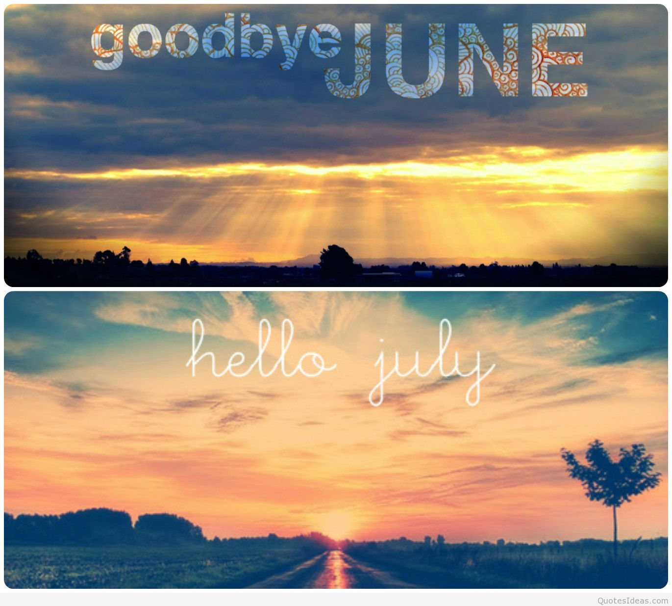 Hello wednesday pictures photos and images for facebook tumblr - Goodbye June Hello July Image