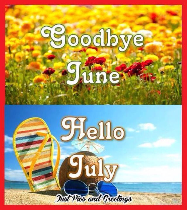 Goodbye June Hello July Summer Quote Pictures, Photos, and Images for Faceboo...