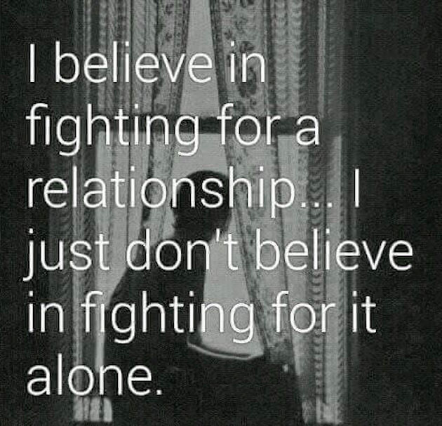 I Believe In Fighting For A Relationship Pictures, Photos ...