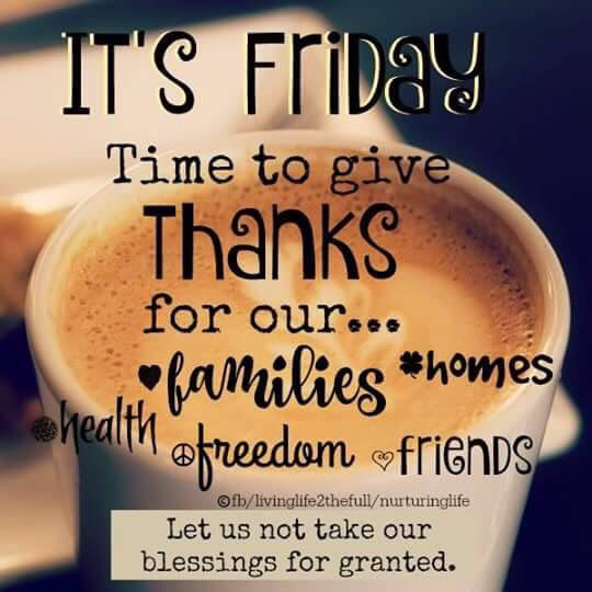 Positive Friday Quotes Funny: It's Friday Time To Give Thanks Pictures, Photos, And