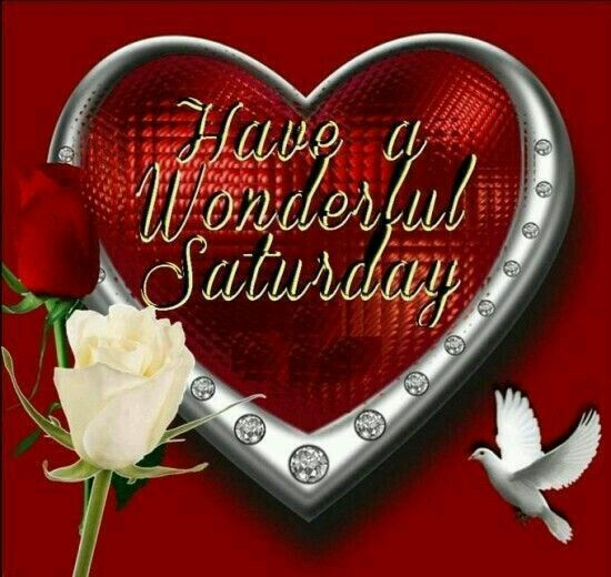 Have A Wonderful Saturday Roses Hearts And Dives Pictures, Photos, and Images for Facebook ...