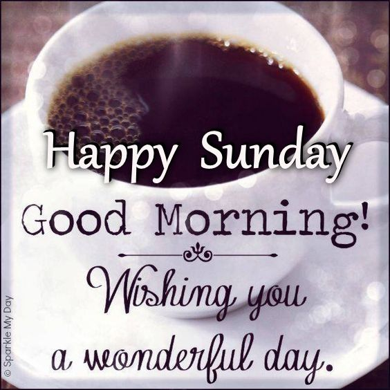 Good Morning And Happy Sunday Love Message : Happy sunday good morning wishing you a wonderful day