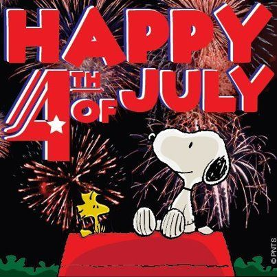 Woodstock And Snoopy Kicks Of 4th Of July Pictures Photos
