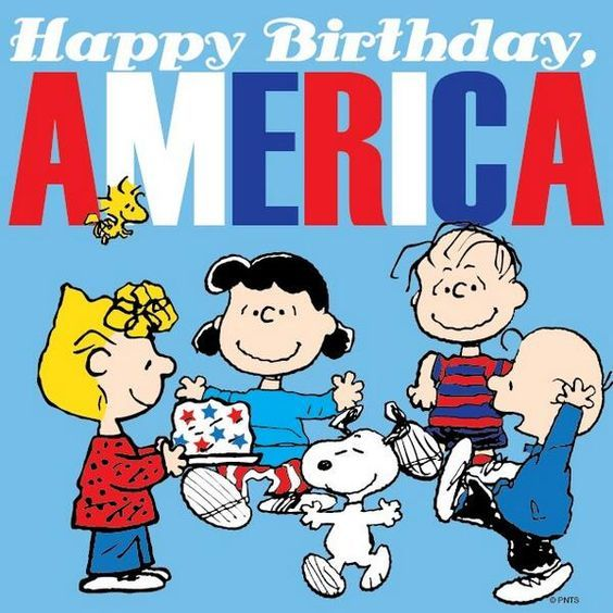 Peanuts Happy Birthday America Pictures, Photos, And