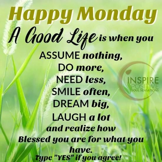 Happy Monday Quotes Happy Monday You Are Blessed Pictures, Photos, and Images for  Happy Monday Quotes