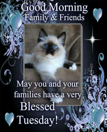 Good Morning Family & Friends, May You And Your Families