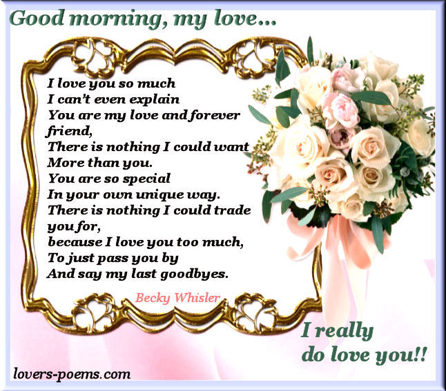 Good Morning My Love Monday : Good morning my love pictures photos and images for
