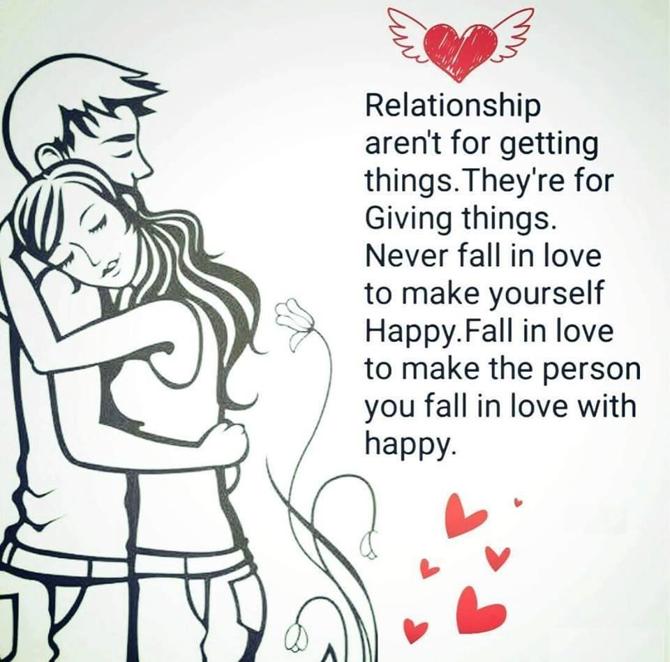 Quotes About Happy Love Relationship Relationships Are To M...