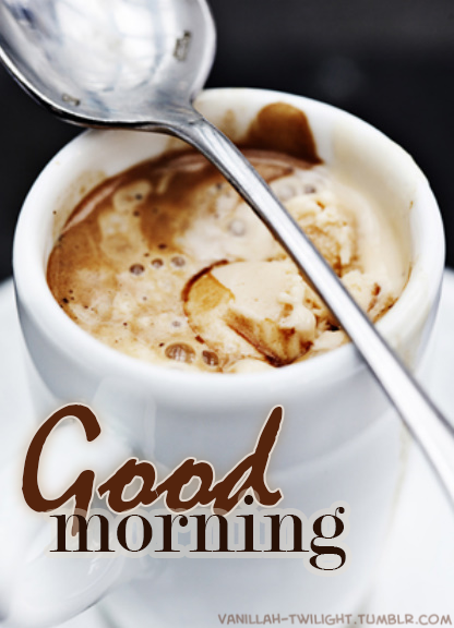 Good Morning Quote With Delicious Coffee Image Pictures