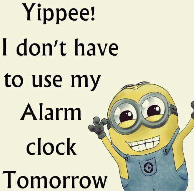 Yipee I Don 39 T Have To Use My Alarm Clock Tomorrow Pictures