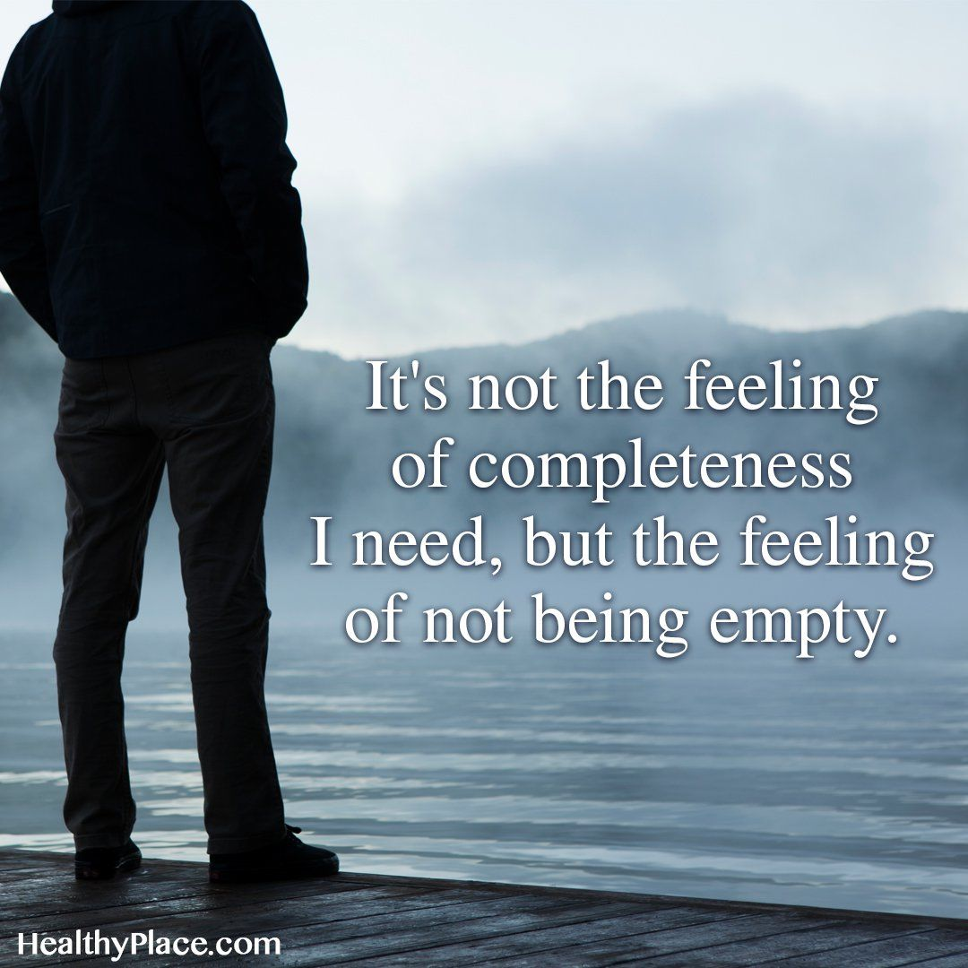 Depression Quotes Garden: The Feeling Of Not Being Empty Pictures, Photos, And