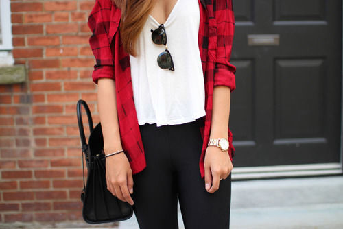 red plaid shirt with black pants pictures photos and