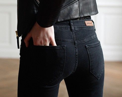 Wife in tight jeans