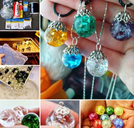 Colored Marbles For Probability Lesson : Cracked marble pendants pictures photos and images for