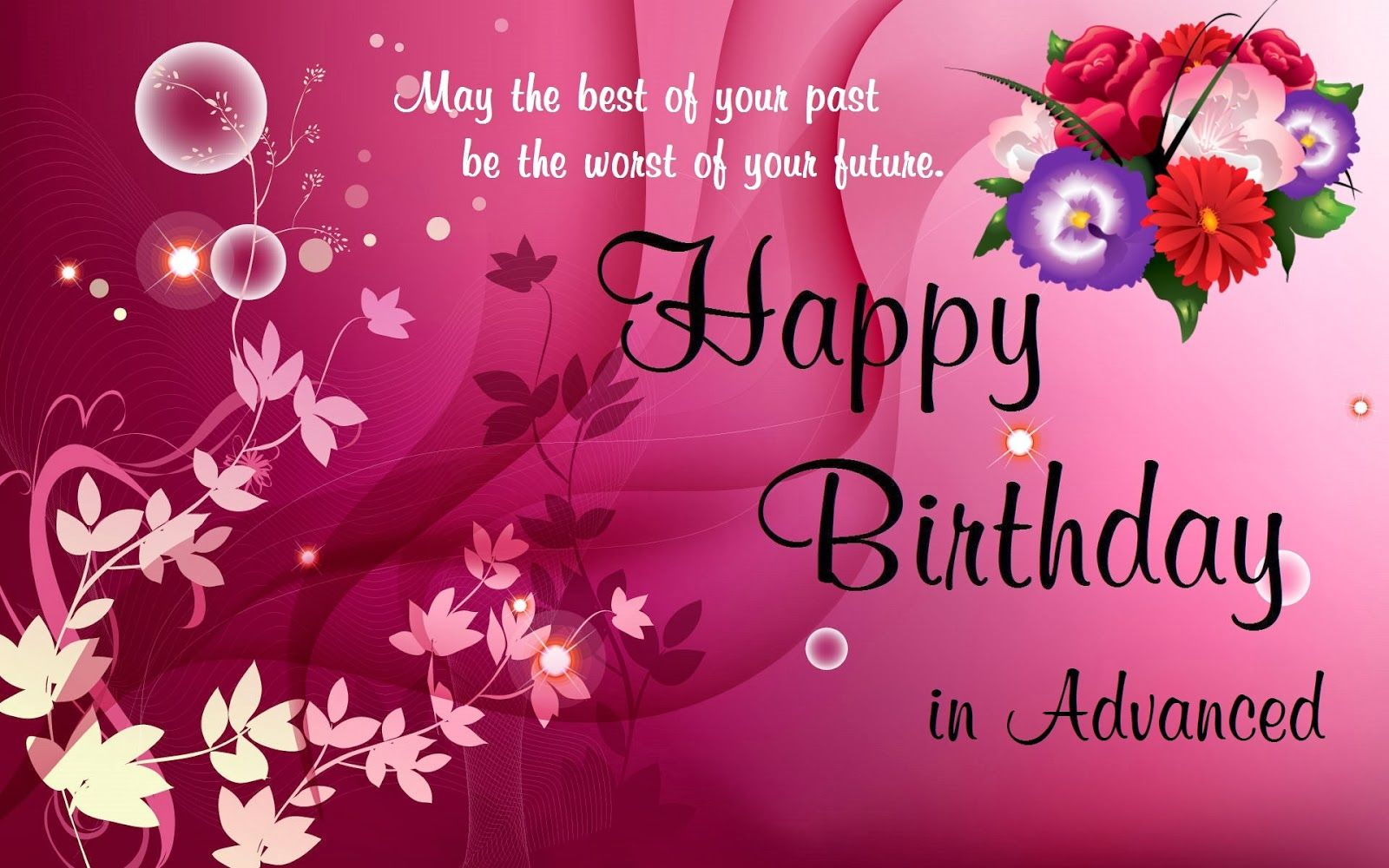 Happy Birthday In Advanced Pictures, Photos, and Images ...