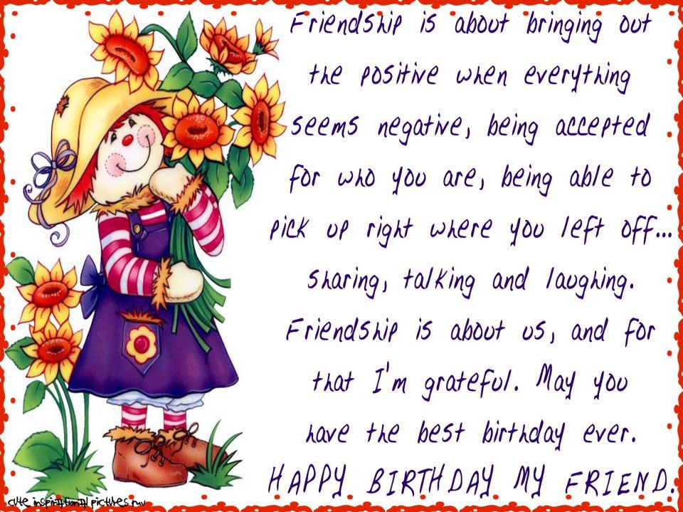 Happy Birthday My Friend Pictures Photos and Images for Facebook – Birthday Card for My Friend