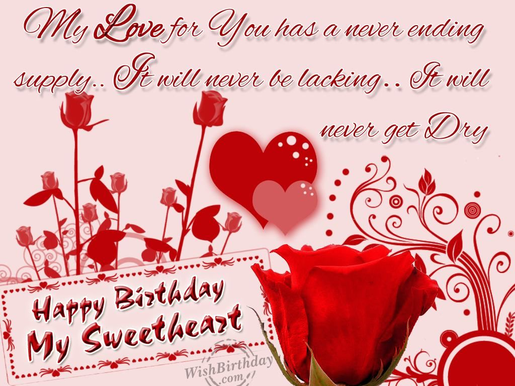 Happy Birthday My Sweetheart Pictures P Os And Images For Facebook Tumblr Pinterest And Twitter