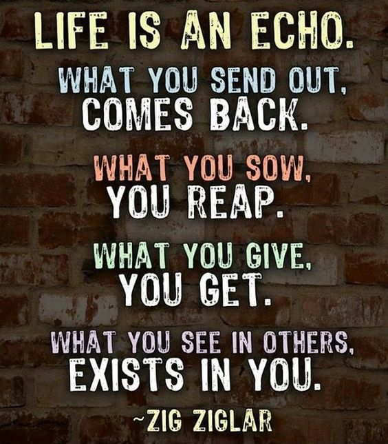 Life Is An Echo Pictures, Photos, And Images For Facebook