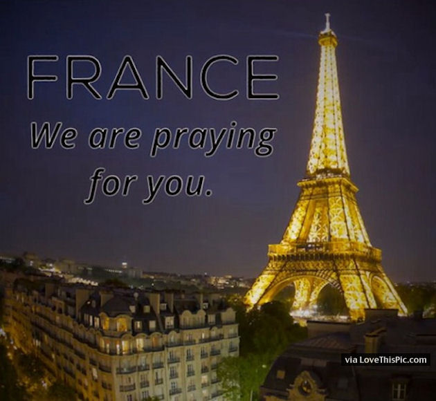 France We Are Praying For You Pictures Photos And Images