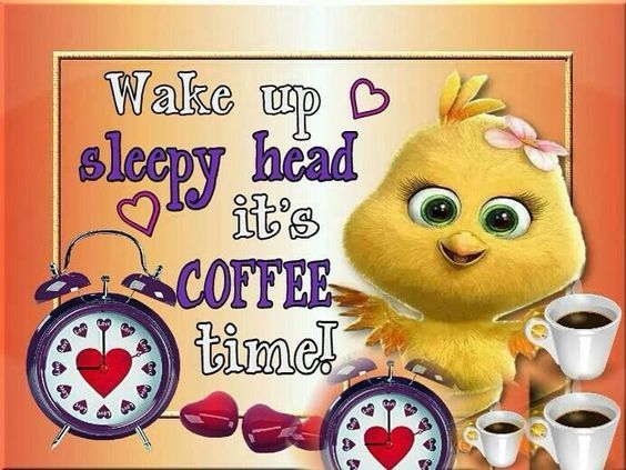 Wake Up Sleepy Head Its Coffee Time Pictures, Photos, and