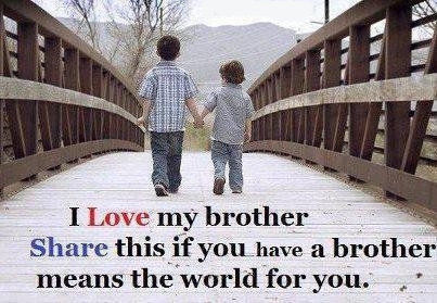 Little Brother Quotes Tumblr I Love My Broth...
