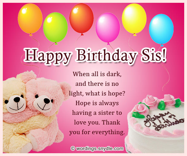 Happy birthday sis pictures photos and images for facebook tumblr