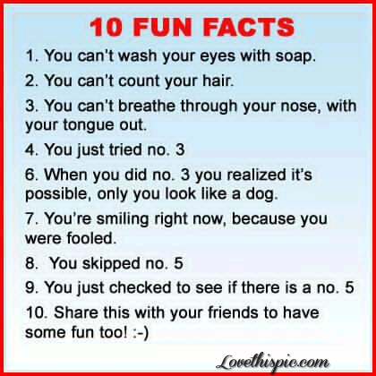 10 Fun Facts Pictures Photos And Images For Facebook