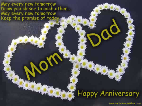 272728 Mom Dad Happy Anniversary