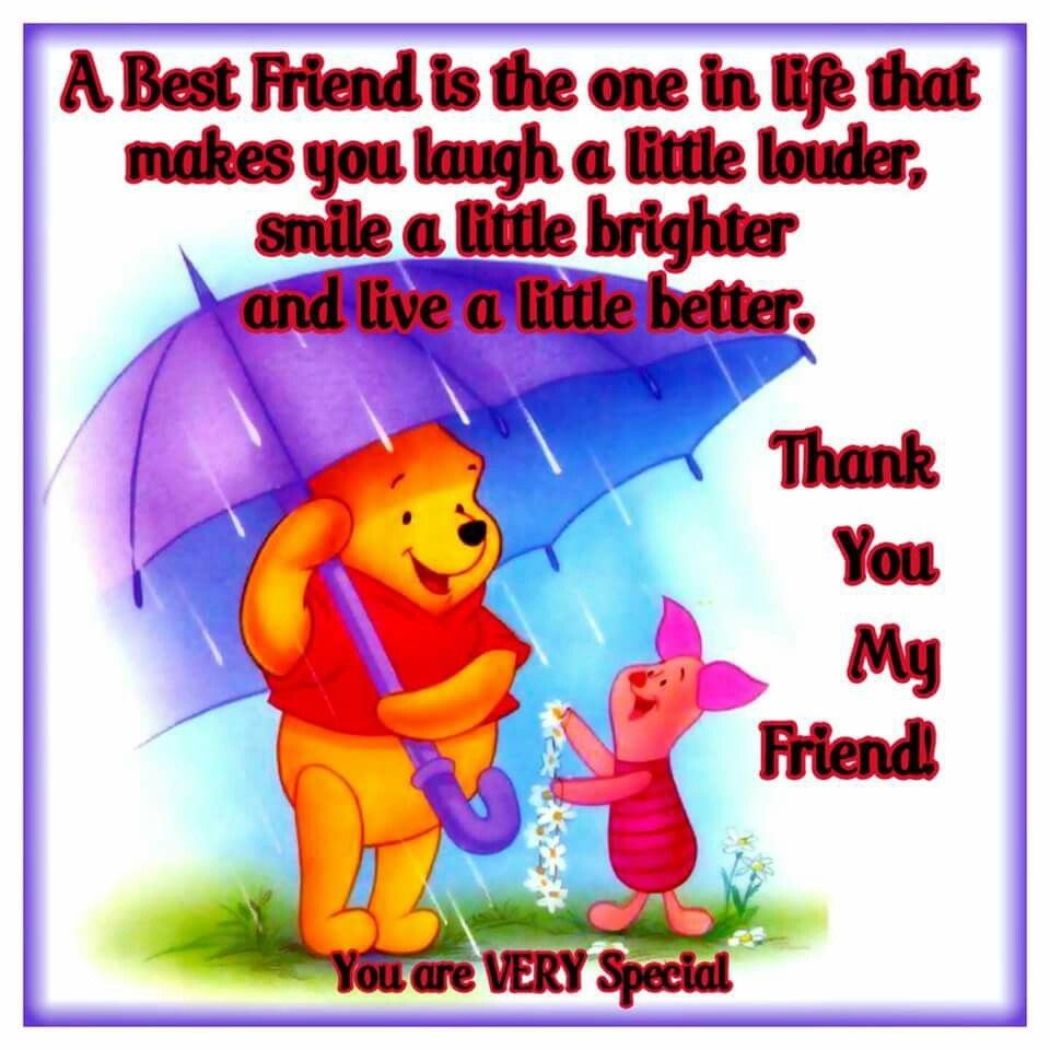 valentines day quotes for your best friend - Thank You My Friend You Are Very Special s