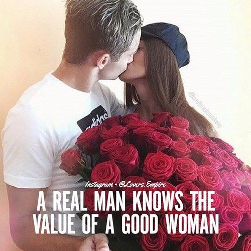 A Natural Man Knows The Value Of A Woman