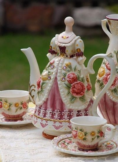 Victorian Tea Set Pictures Photos And Images For