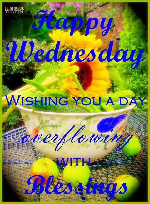 Happy wednesday wishing you a day full of blessings pictures photos