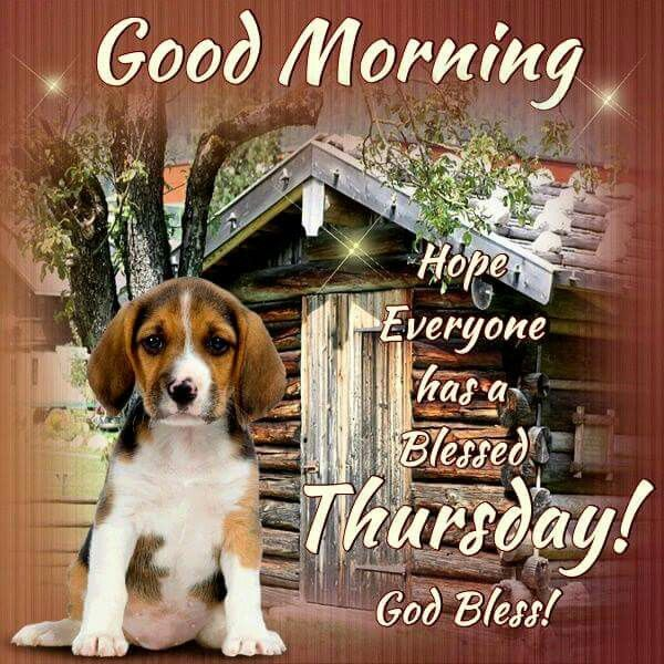 Good Morning, Hope Everyone Has A Blessed Thursday! God ...