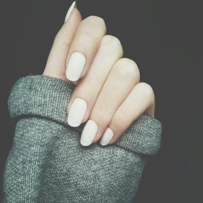 plain white nails pictures photos and images for
