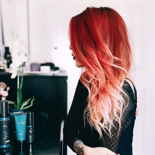 Red Ombre Hair Pictures Photos And Images For Facebook