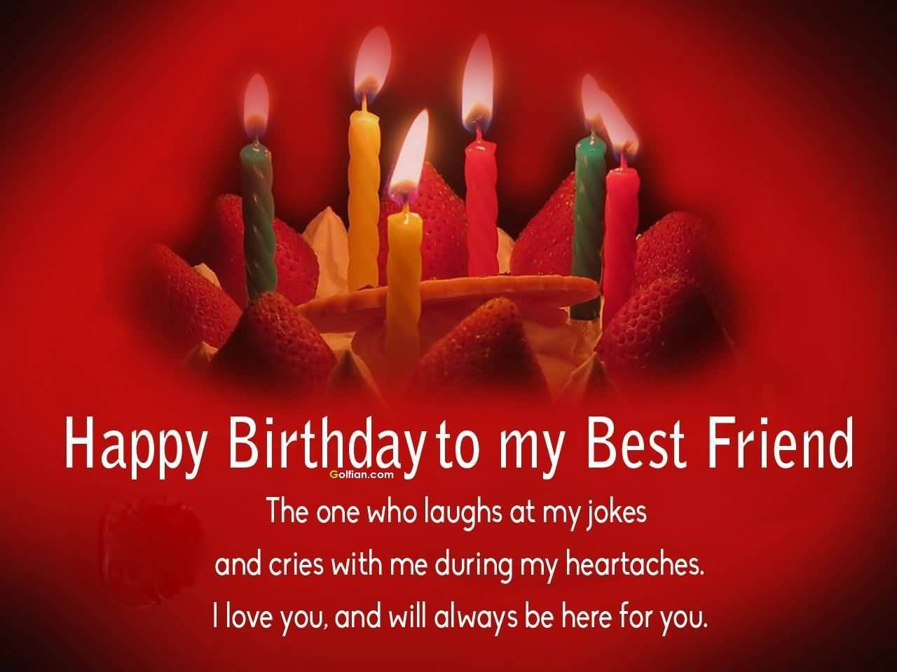 Birthday Wishes For Best Friend Girl Images ~ Happy birthday to my best friend pictures photos and