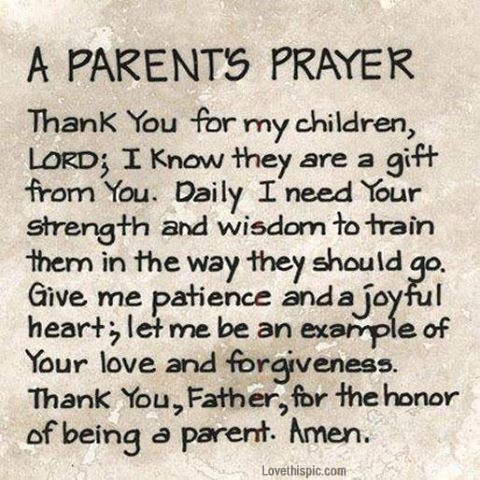 A Parents Prayer Pictures Photos And Images For Facebook