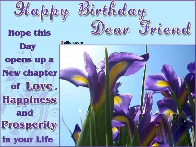 Happy Birthday Dear Friend Pictures, Photos, and Images ... | 800 x 600 jpeg 58kB