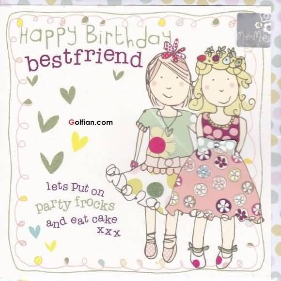 Happy Birthday Quotes Best Friend Girl: Happy Birthday Bestfriend Pictures, Photos, And Images For