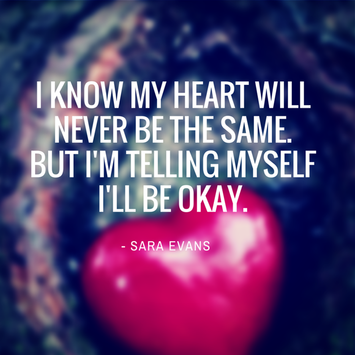 I Ll Be Home For Christmas Quotes: I Know My Heart Will Never Be The Same. But I'm Telling