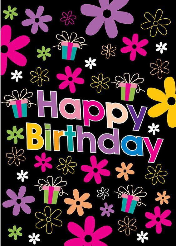 retro happy birthday flowers pictures photos and images for