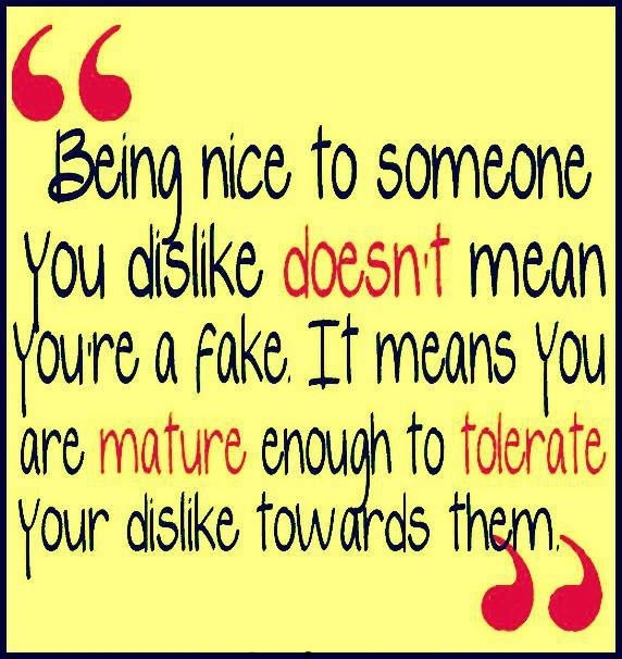 Being Nice To Someone Pictures, Photos, and Images for ... Quotes About People Being Mean To You
