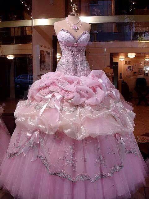 Pink Princess Ball Gown Pictures, Photos, and Images for Facebook ...