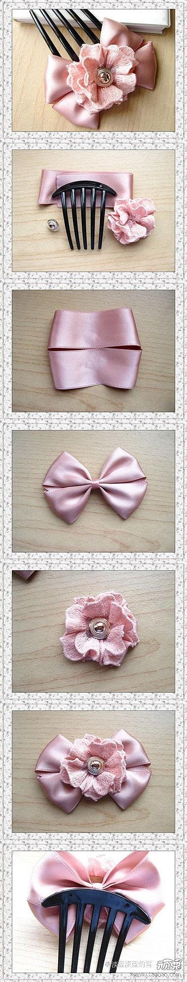 Diy hair bow pictures photos and images for facebook tumblr diy hair bow solutioingenieria Choice Image