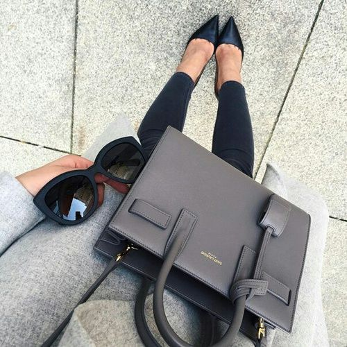 Kate Spade Bag With Black Jeans And